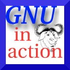 [We run GNU] icon