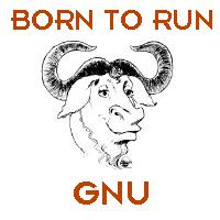 ['Born to run GNU� JPG]