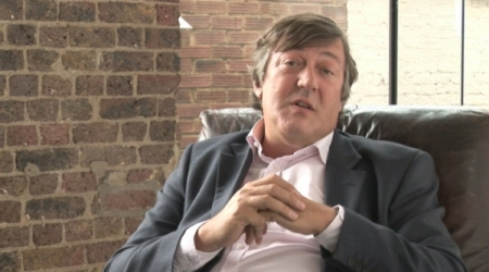 Stephen Fry in 'Happy Birthday to GNU'
