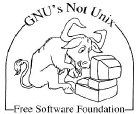 [image of a Typing GNU Hacker]