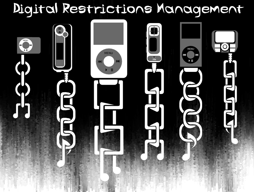 [The chains of Digital Restrictions Management]