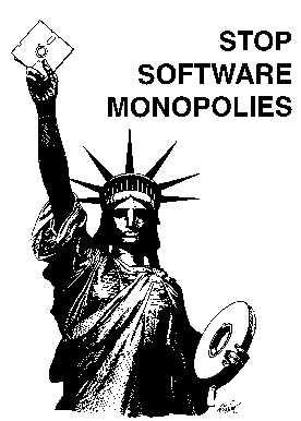 [Statue of Liberty Protecting Software Freedoms]