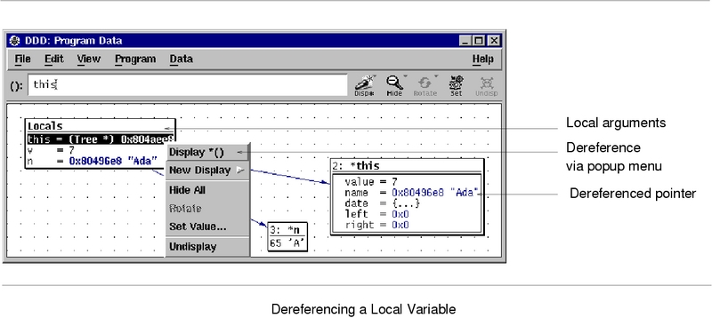 Displaying Local Variables