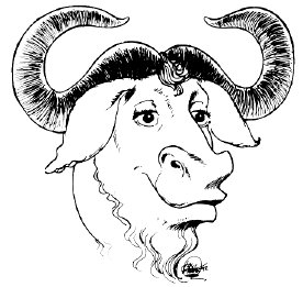 The Gnu is the mascot of free software