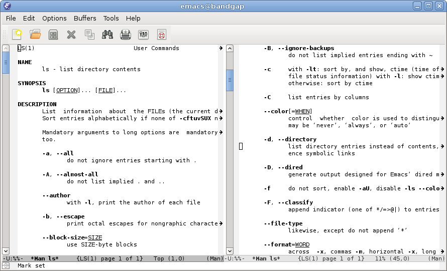A guided tour of Emacs