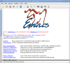 emacs logo