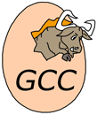 Logo of gcc