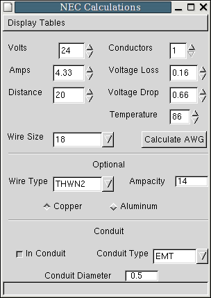 Nec wire size voltage drop choice image wiring table and diagram nec wire size voltage drop image collections wiring table and nec wire size voltage drop gallery greentooth Images