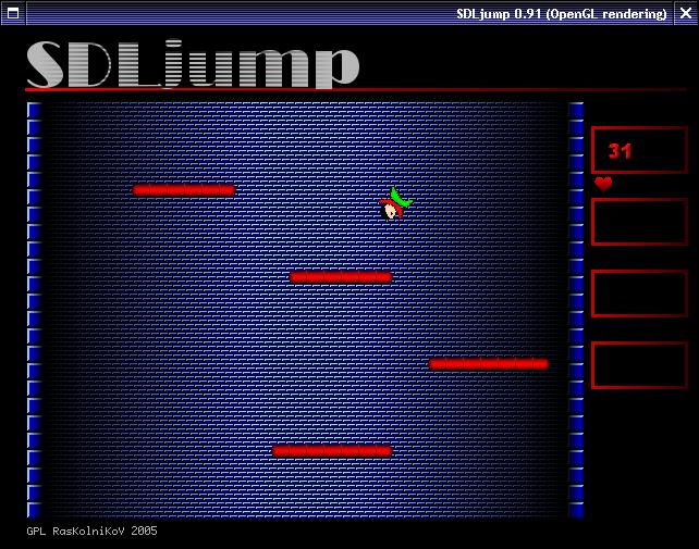 pantallazo de XJump