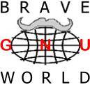 [�Brave GNU World' Logo]