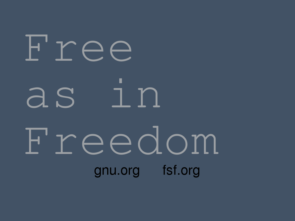 Wallpapers Gnu Project Free Software Foundation