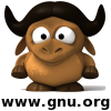 An avatar based on 3D Baby GNU