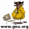 An avatar based on Levitating, Meditating, Flute-playing Gnu by the Nevrax Design Team