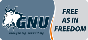 [GNU // Free as in freedom]