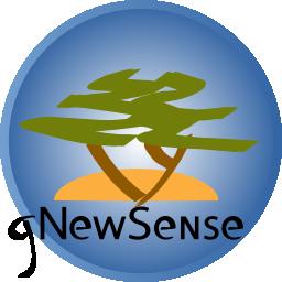 Gnewsense Logo Gnu Project Free Software Foundation