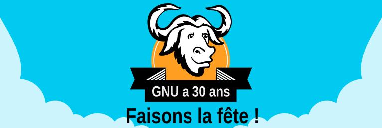 [ Célébrons les 30 ans de GNU ! ]