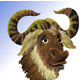 [Portrait of GNU]