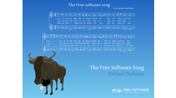 [The Free Software Song wallpaper]