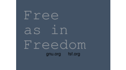 [Free as in Freedom, gnu.org fsf.org wallpaper]
