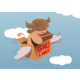 [Flying GNU Design]