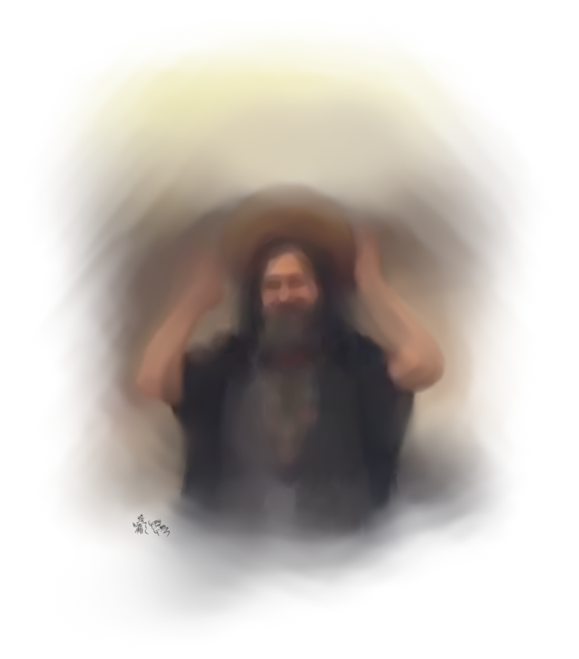 [Stallman as Saint Ignucius]