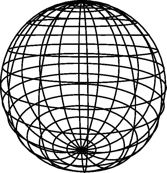 Image Gallery sphere outline