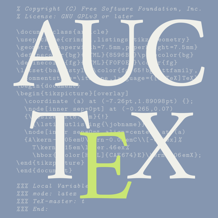 logo for auctex