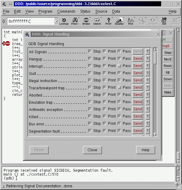 DDD - Data Display Debugger - GNU Project - Free Software