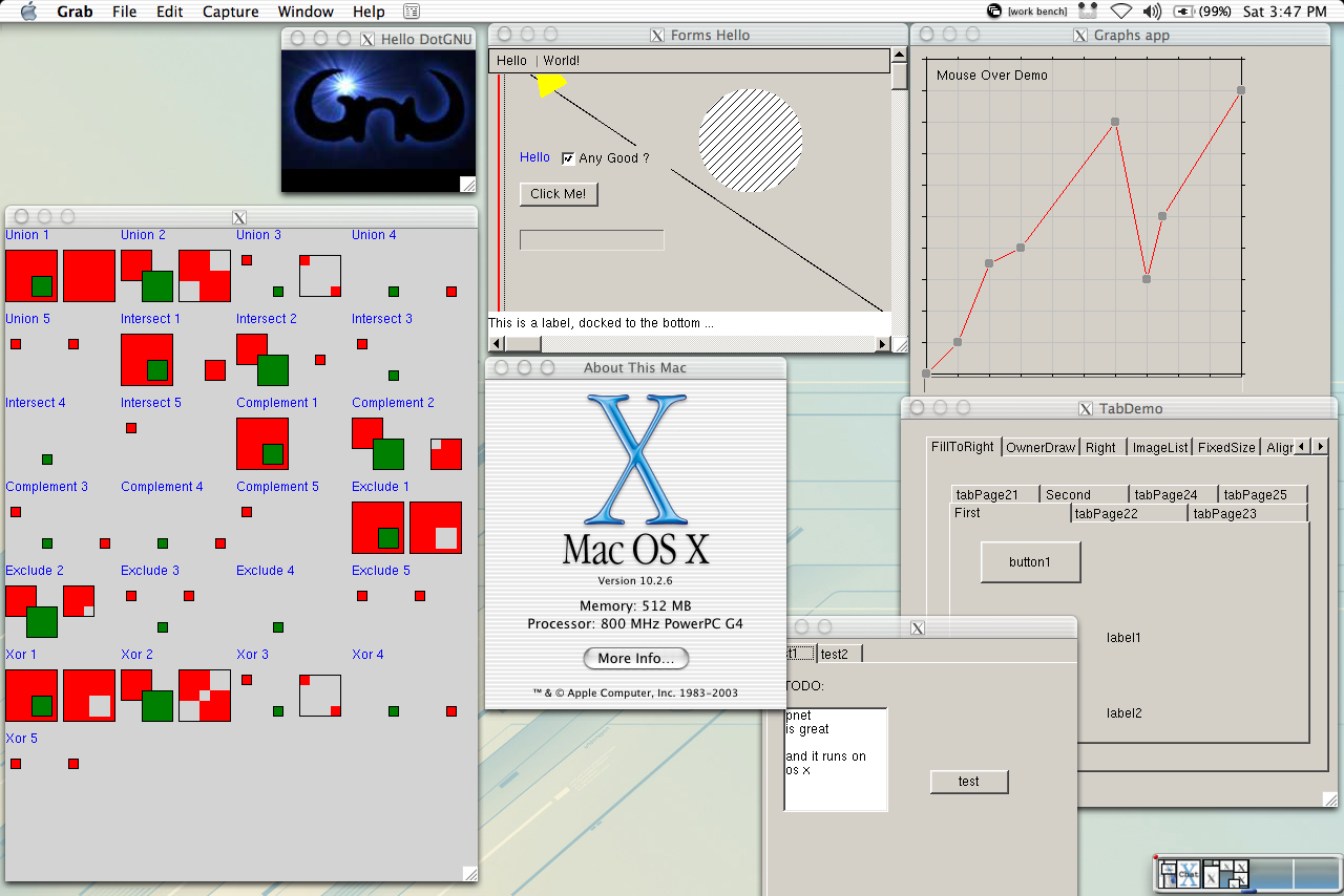 Screenshot: Demo of DotGNU's X11-based System.Windows.Forms ... on c# form example, word form example, java form example, art form example, photography form example, insurance form example, web form example, wordpress form example, excel form example, business form example, google form example,