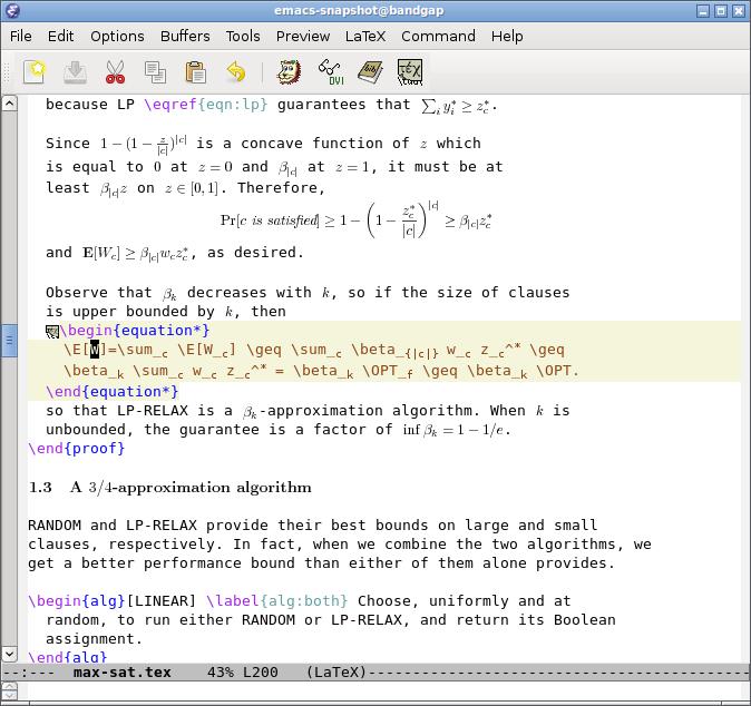 slackbook:emacs - SlackDocs - Slackware