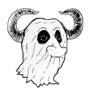 [image of the Head of a Ghost GNU]