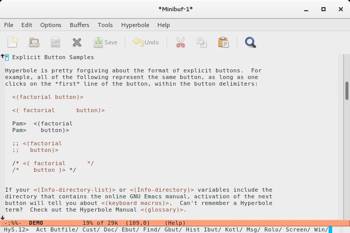 GNU Hyperbole Manual