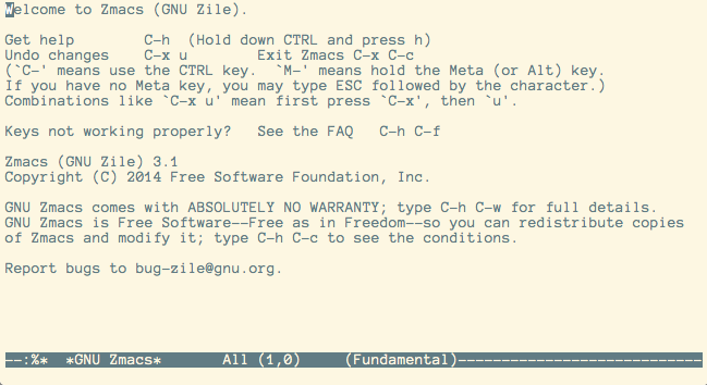 Zile - GNU Project - Free Software Foundation